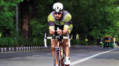 Meet Major General Vikram Dogra, the only serving Indian Army officer to hold the Ironman title