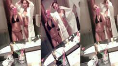 Sara Khan's sister shares their bathroom video yet again!