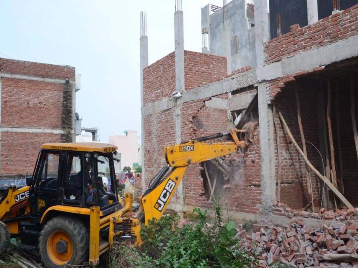 Balaji enclave Govindpuram illegal constrution gda ghaziabaad