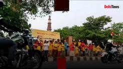 From Delhi to Gurgaon, NCR bikers ride to celebrate azaadi