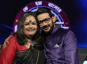 Usha Uthup has a bast with Prosenjit
