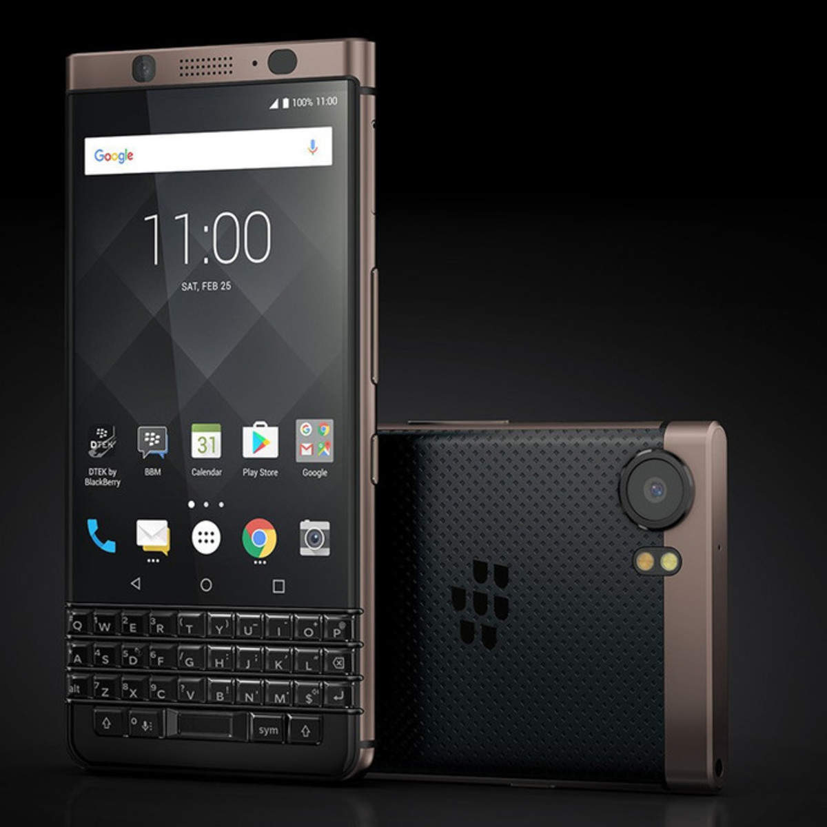 BlackBerry KEYOne starts receiving Android Oreo update