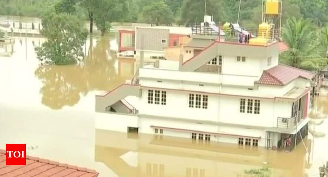 army joins rescue operations in karnataka rain hit kodagu district