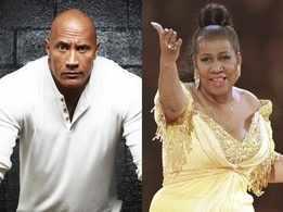 Dwayne Johnson pays tribute to Aretha Franklin