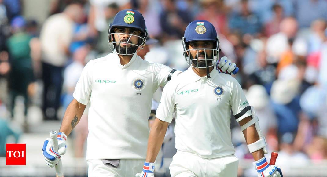 India Vs England India Vs England Rd Test Virat Kohli To Indias Rescue Again After Woakes Treble Cricket News Times Of India