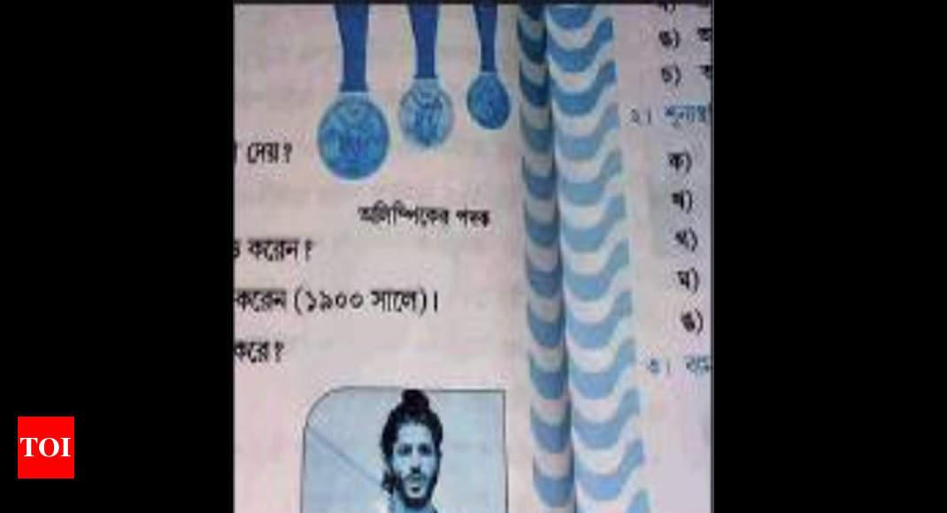Bengal schoolbook carries Farhan photo as Milkha's