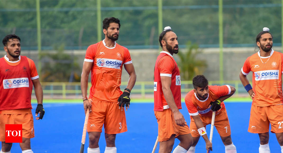 2020 Asian Games Football.Asian Games Indian Hockey Team Eyes Gold And Automatic