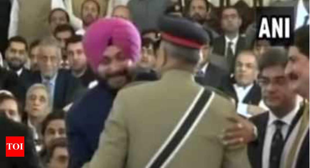 Navjot Singh Sidhu justifies hugging General Bajwa, says he felt love from Pakistan side