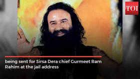 Gurmeet Ram Rahim a sex addict: Jail doctor | News - Times of India
