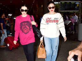What to wear when travelling? Take a cue from Kapoor girls
