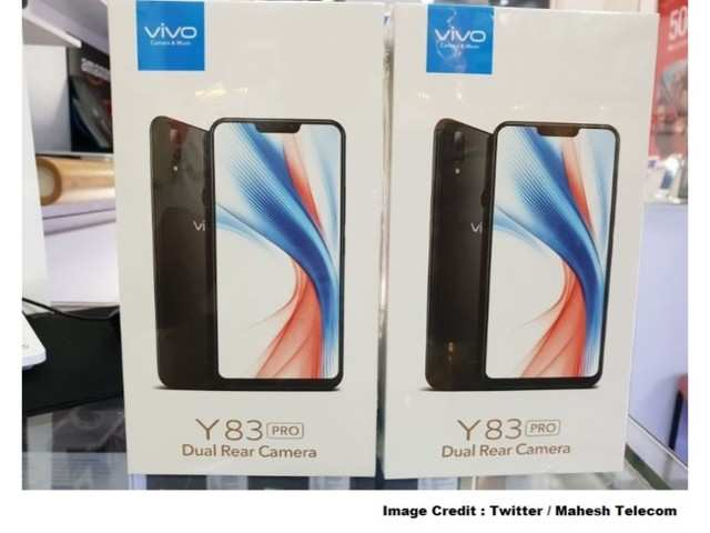 Vivo Y83 with dual rear camera reportedly launched in India