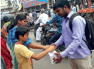 Students in Aurangabad extend helping hand for flood relief