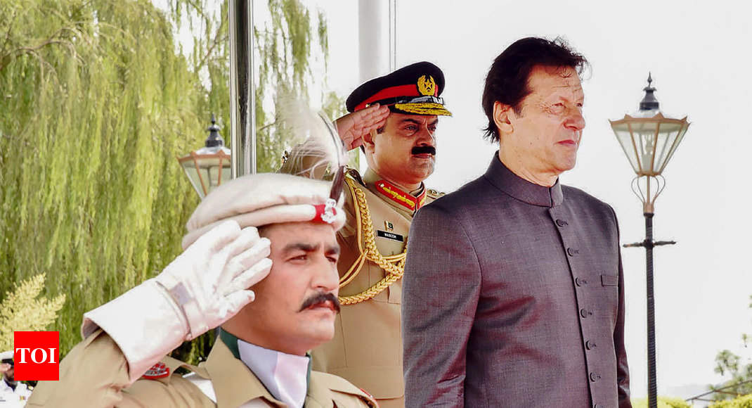 India, Pakistan must resolve differences through dialogue: Imran Khan - Times of India ?
