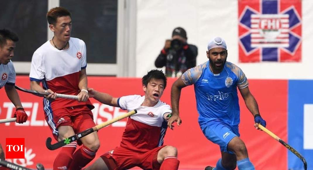 Asian Games 2018 (Men's Hockey) — India vs Sri Lanka 20 ...