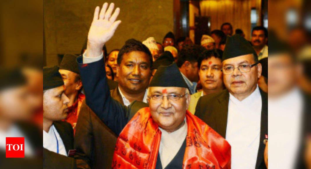 KP Oli: Man arrested for superimposing Nepal PM Olis face