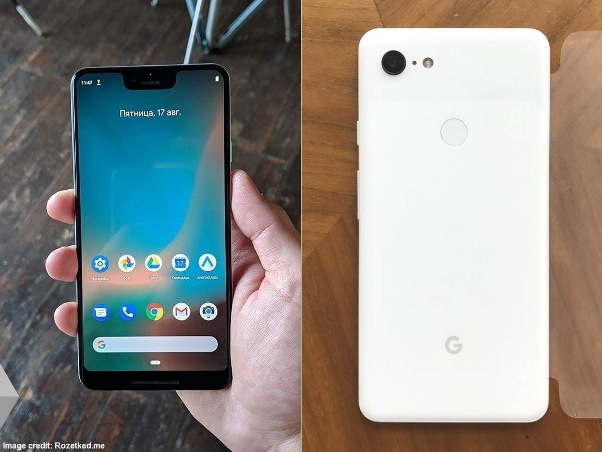 Google Pixel 3 XL shows up on Russian websites with camera