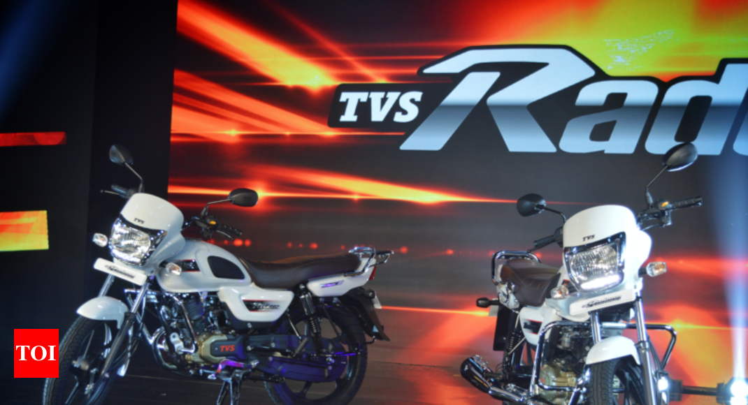 Tvs Radeon Price Tvs Launches New 110cc Bike Radeon At Rs 48400