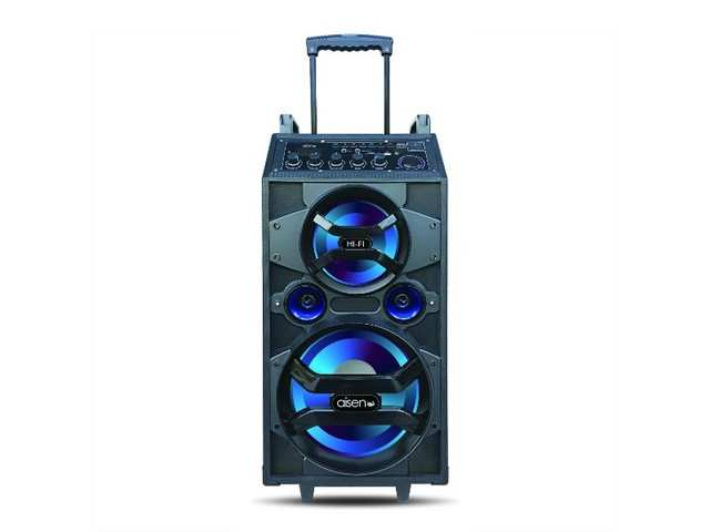 Aisen launches A12UKB800 inbuilt battery trolley speaker at Rs 12,499