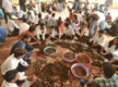 Students make the most of seed ball making and tree plantation