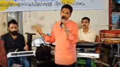 Vinod Kovoor sings to raise funds to support Kerala