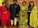Photos: When Deeksha Joshi and Esha Kansara dolled up for Ujjval Dave's engagement ceremony