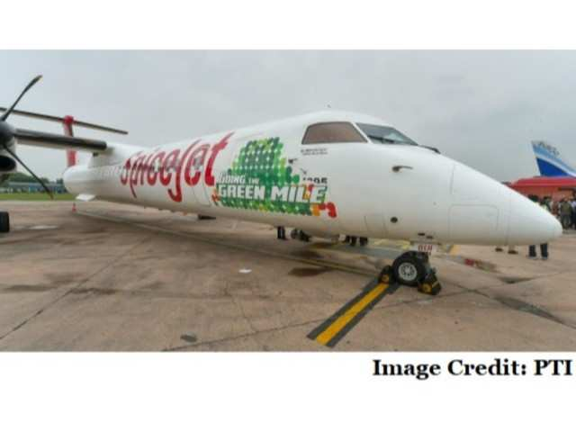 SpiceJet operates India's first biofuel-powered flight