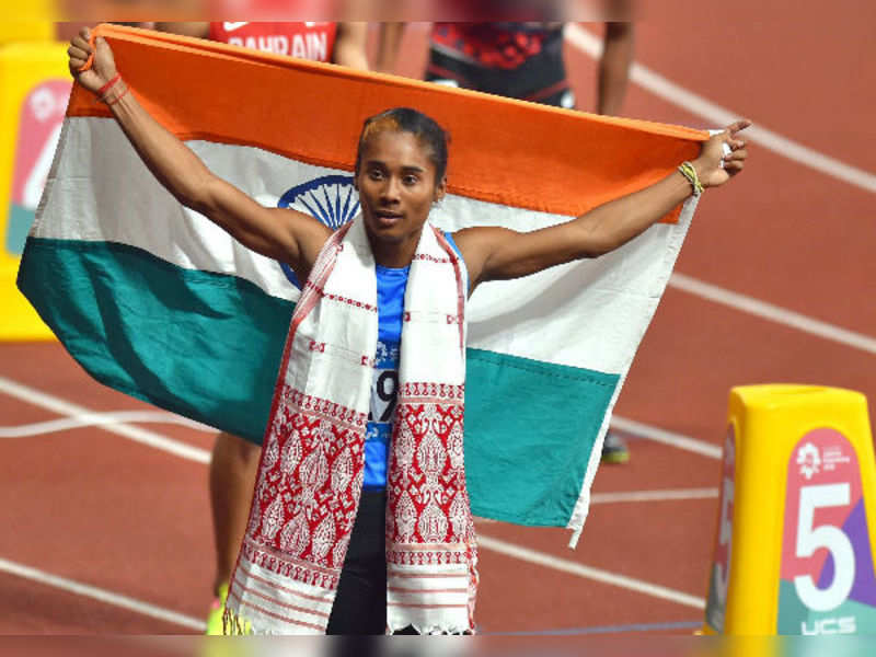 I don't run for medals: Hima Das