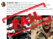 Twitter account claiming to be BSF jawan Tej Bahadur Yadav's is fake