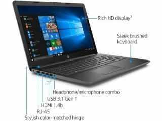 HP 14q-cs0006TU (4WQ12PA) Laptop (Core i3 7th Gen/4 GB/1 TB/Windows 10)