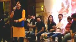 Watch: Aditya Gadhvi croons song 'Bhada Na Makan Ma'