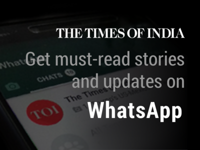 TOI is now on WhatsApp | India News - Times of India
