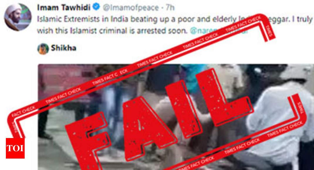 fake alert man beaten up in dehradun not a naga sadhu was not thrashed by muslims india news times of india