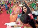 Ladies in Aurangabad bond over teej celebration