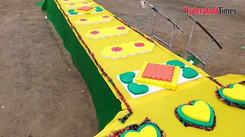 999-feet long Rakhi in Vijayawada