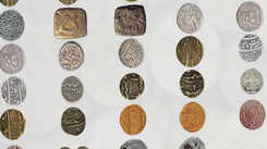 Chalni coins from the Asaf Jahi era