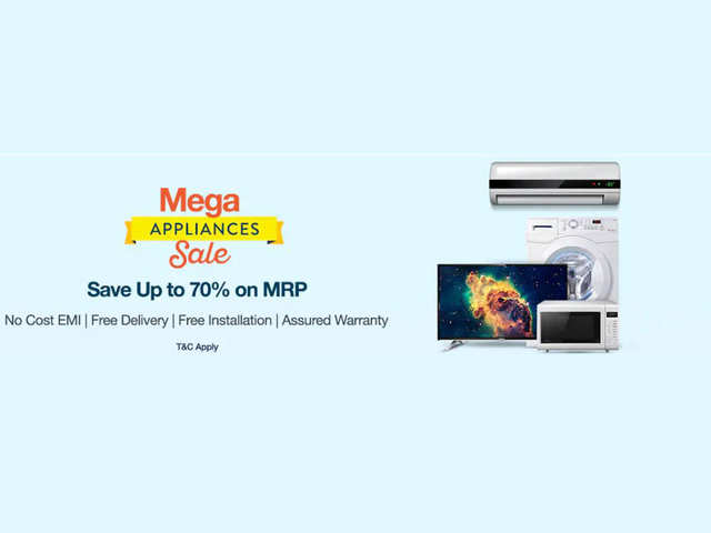 Paytm Mega Appliances sale: Get TVs, ACs and home theater systems at up to 44% discount