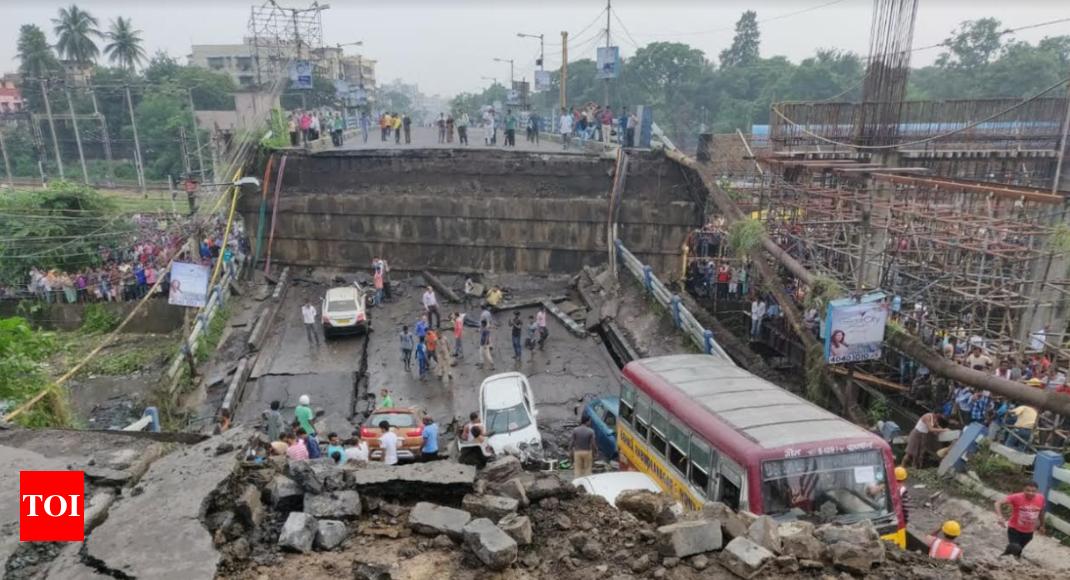 Kolkata bridge collapse: One killed, several injured as ...