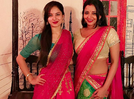 Picture: Monalisa shares a throwback picture with television actress Puja Banerjee