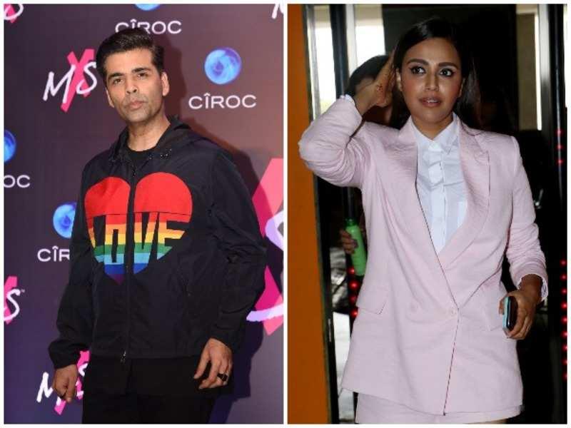 Karan Johar has a piece of advice for Swara Bhasker