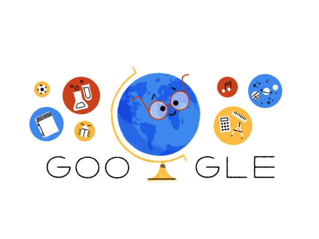 Google doodle celebrates Teachers' Day