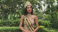 Surti girl Nazneen Shaikh crowned Miss Polo International 2018 in Nigeria