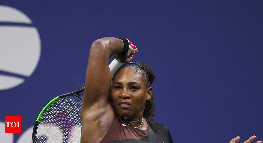 Serena williams tog sjatte segern i australian open