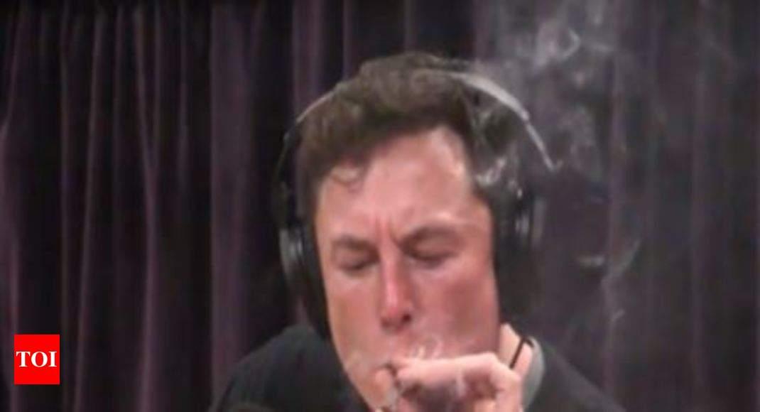California Tax Calculator >> Tesla CEO Elon Musk smokes weed on live webcast - Times of ...