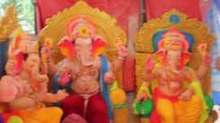 Hollywood basti near Gulbai Tekra gets ready for Ganesh Chaturthi