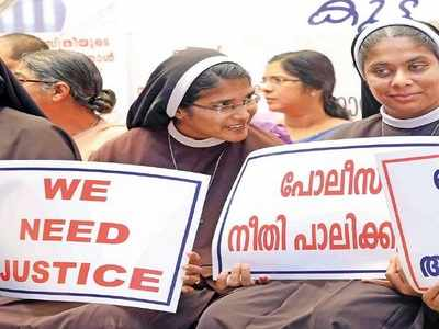 In a first, Catholic nuns protest 'sexploitation' | Kochi