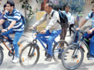 Vivekanand College celebrated no vehicle day