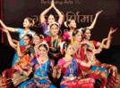 Young girls present Bharatanatyam for Guru Purnima