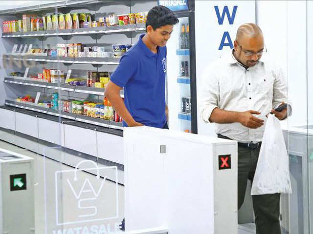 The 500sq ft store depends on artificial intelligence, camera technology and sensors.