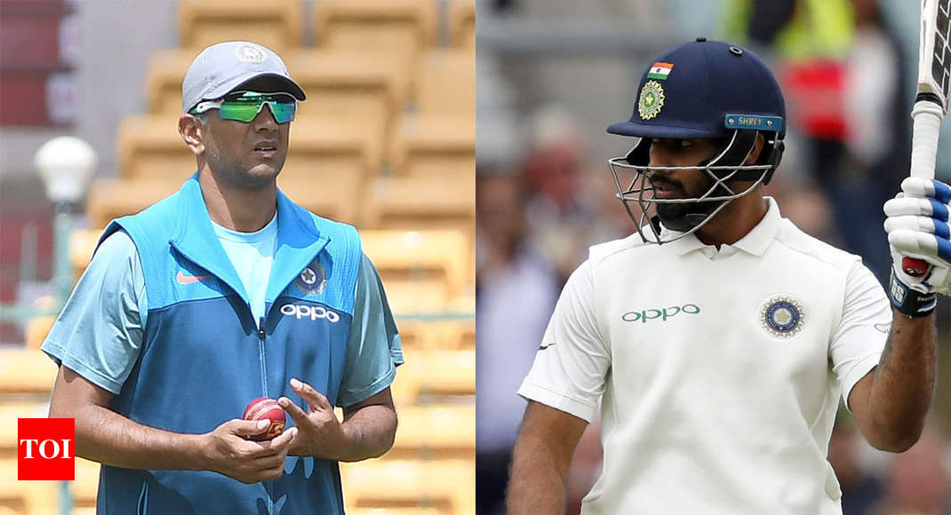 India vs England test: Speaking to Rahul Dravid eased my ...