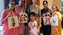 Mumbaikars enjoy an evening of Madhubani art